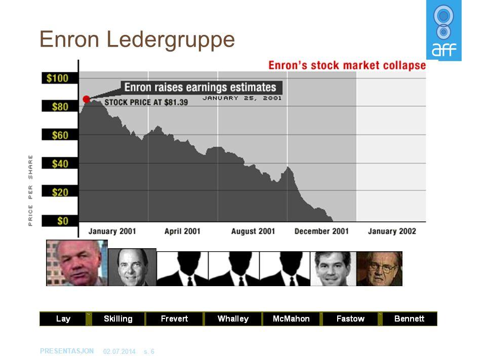 Enron Ledergruppe 03.04.2017