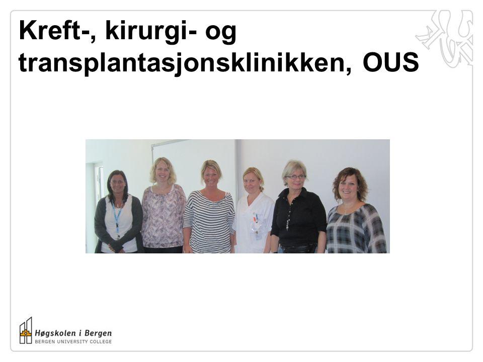 Kreft-, kirurgi- og transplantasjonsklinikken, OUS