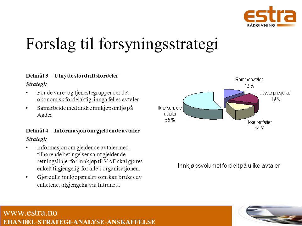 Forslag til forsyningsstrategi