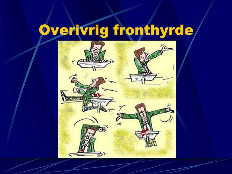 Overivrig fronthyrde