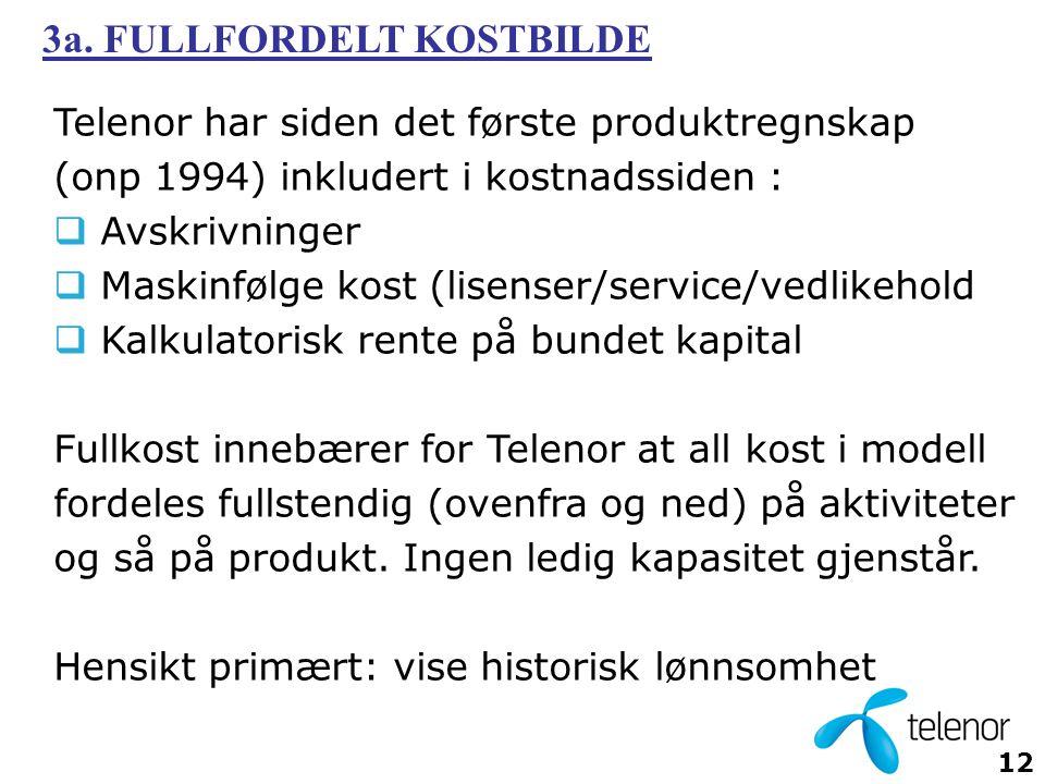 3a. FULLFORDELT KOSTBILDE