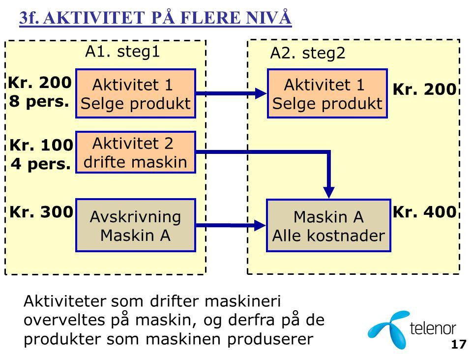 3f. AKTIVITET PÅ FLERE NIVÅ