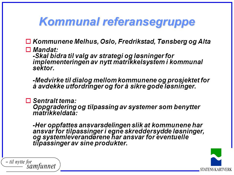 Kommunal referansegruppe