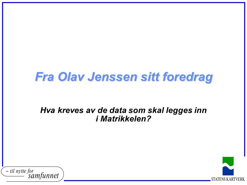 Fra Olav Jenssen sitt foredrag