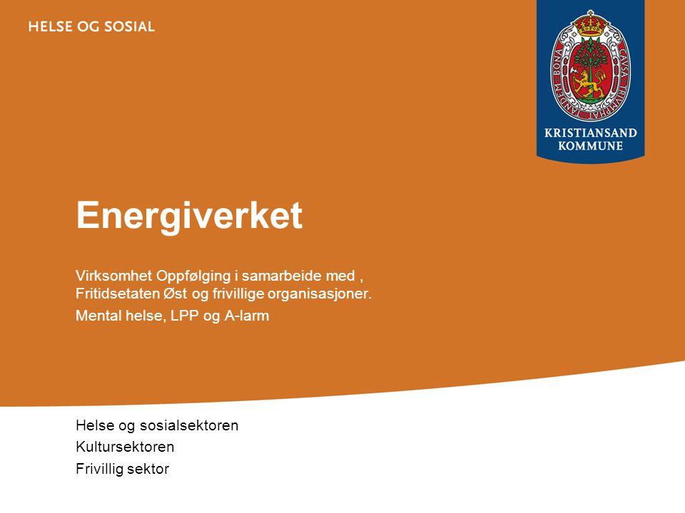 Energiverket Virksomhet Oppfølging i samarbeide med , Fritidsetaten Øst og frivillige organisasjoner.