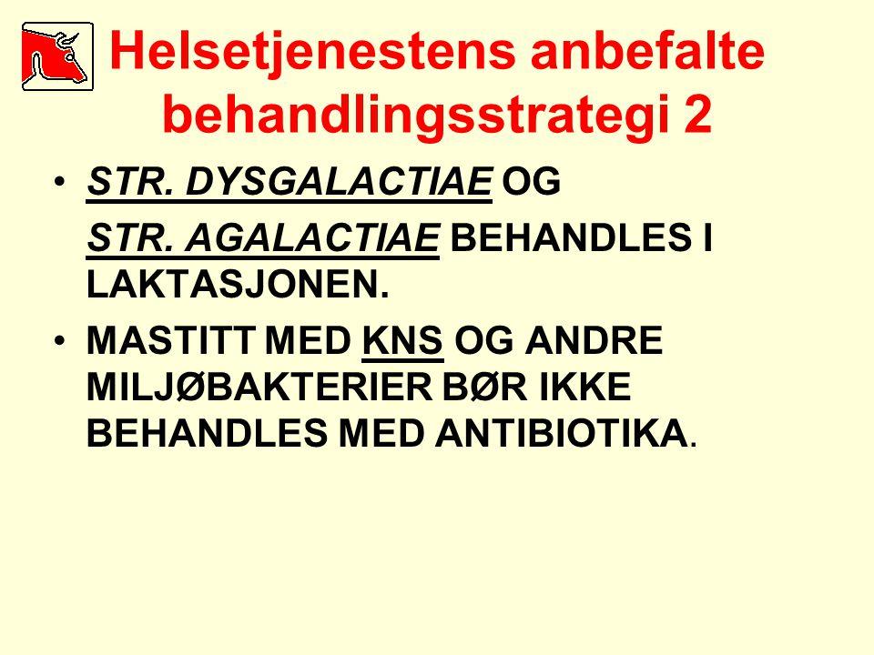 Helsetjenestens anbefalte behandlingsstrategi 2