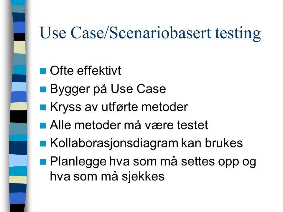 Use Case/Scenariobasert testing