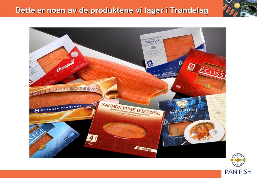 Dette er noen av de produktene vi lager i Trøndelag