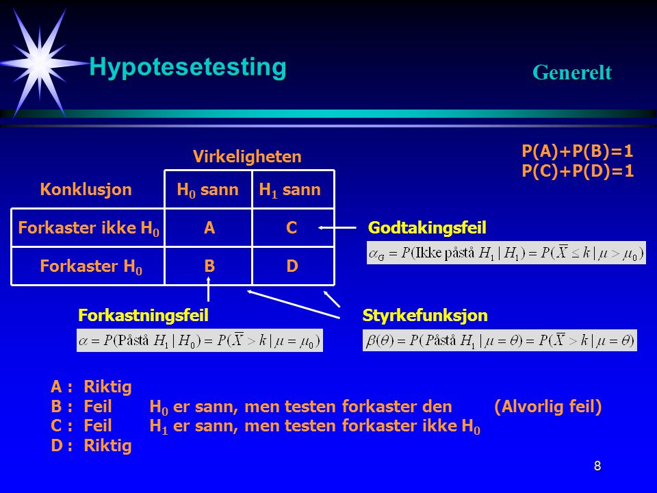 HYPOTESETESTING