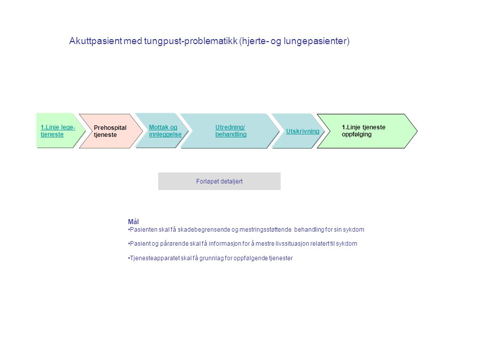 Akuttpasient med tungpust-problematikk (hjerte- og lungepasienter)