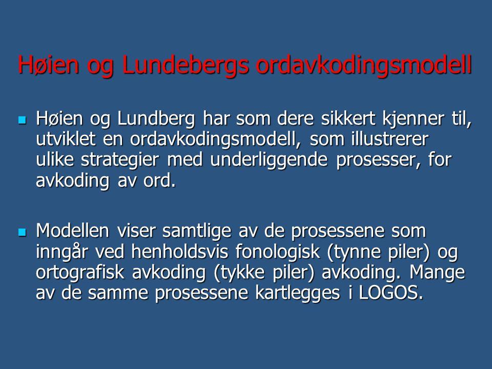 Høien og Lundebergs ordavkodingsmodell