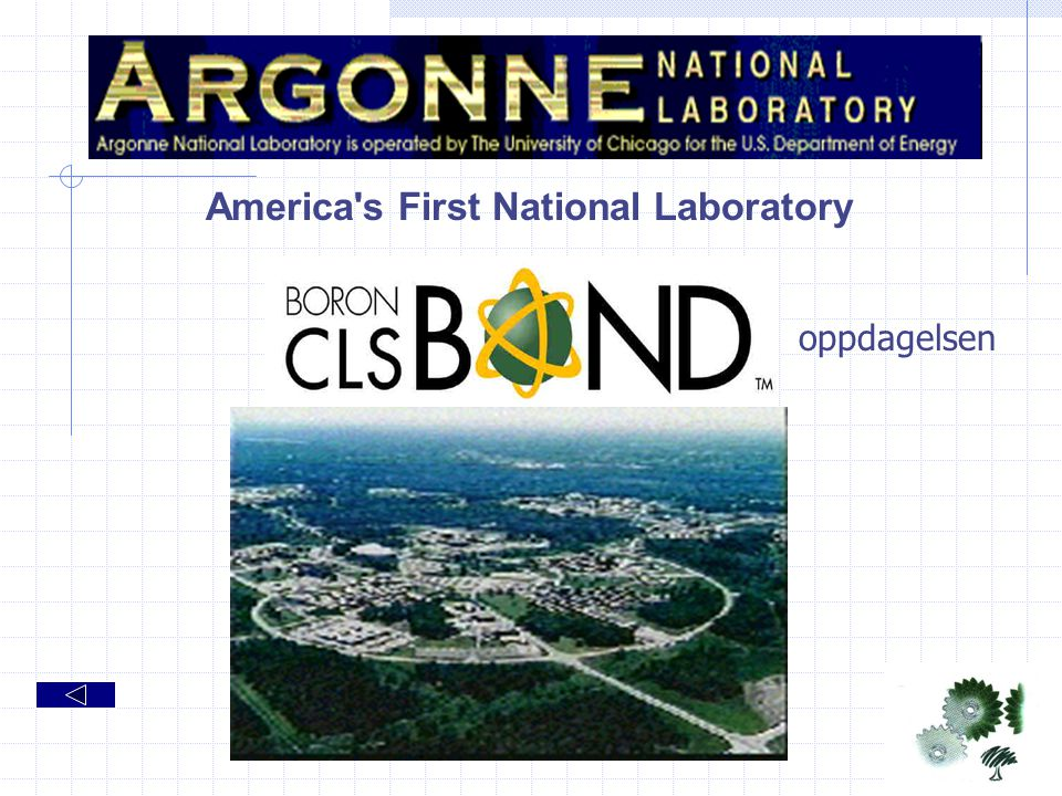 America s First National Laboratory