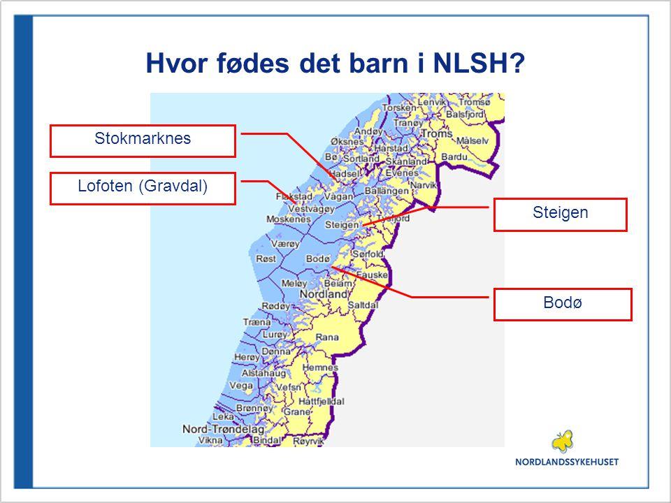 Hvor fødes det barn i NLSH