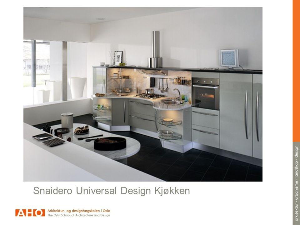 Snaidero Universal Design Kjøkken