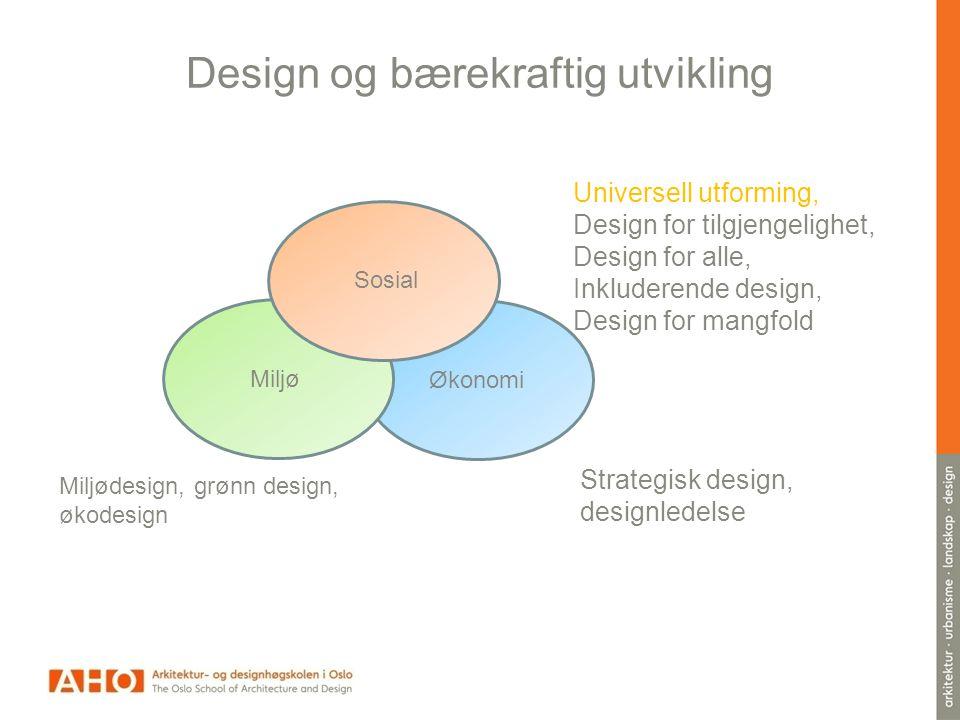 Design og bærekraftig utvikling