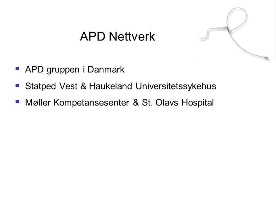 APD Nettverk APD gruppen i Danmark