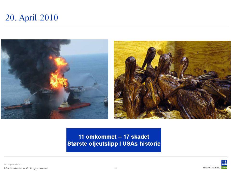 Største oljeutslipp I USAs historie