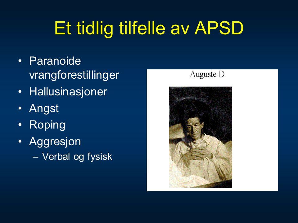 Et tidlig tilfelle av APSD