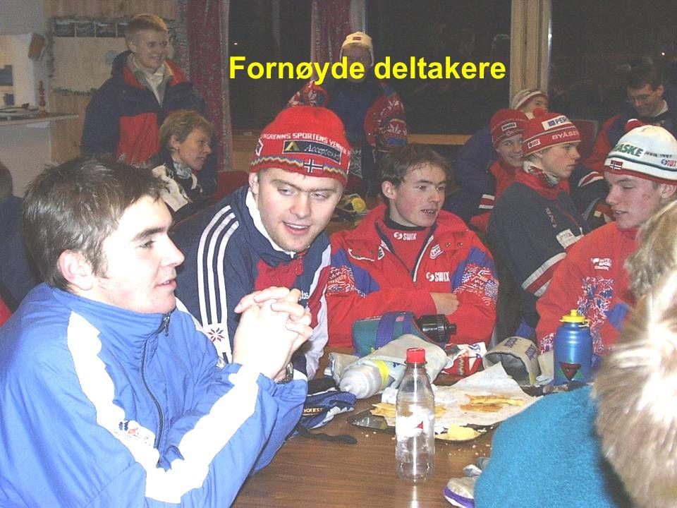 Fornøyde deltakere