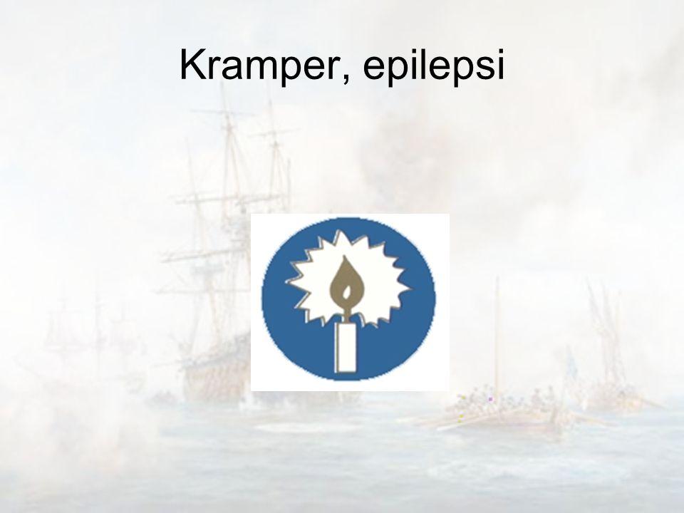 Kramper, epilepsi