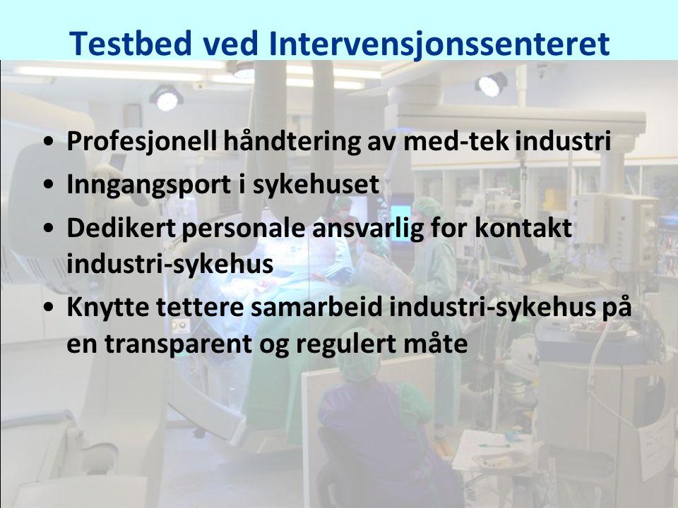 Testbed ved Intervensjonssenteret