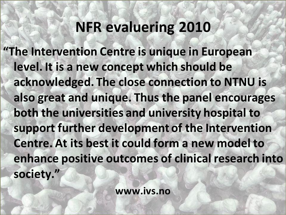 NFR evaluering 2010