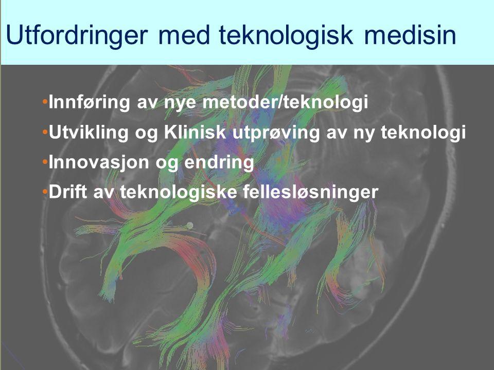Utfordringer med teknologisk medisin