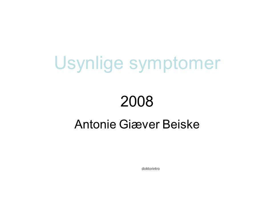 Antonie Giæver Beiske doktorintro