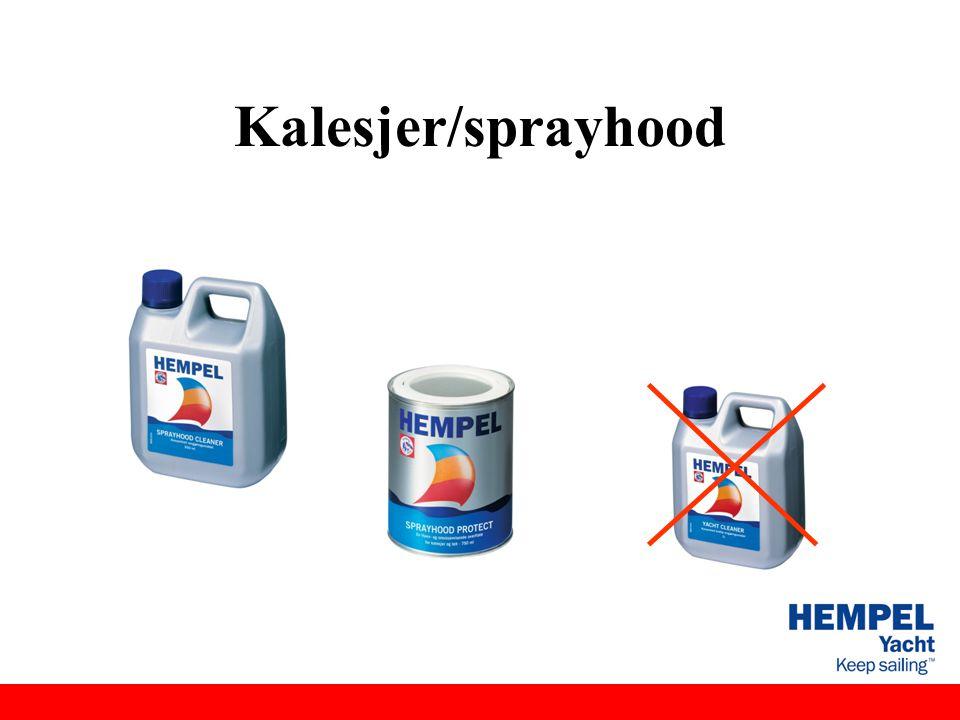Kalesjer/sprayhood