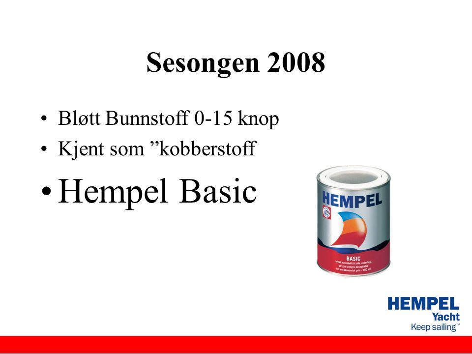 Hempel Basic Sesongen 2008 Bløtt Bunnstoff 0-15 knop