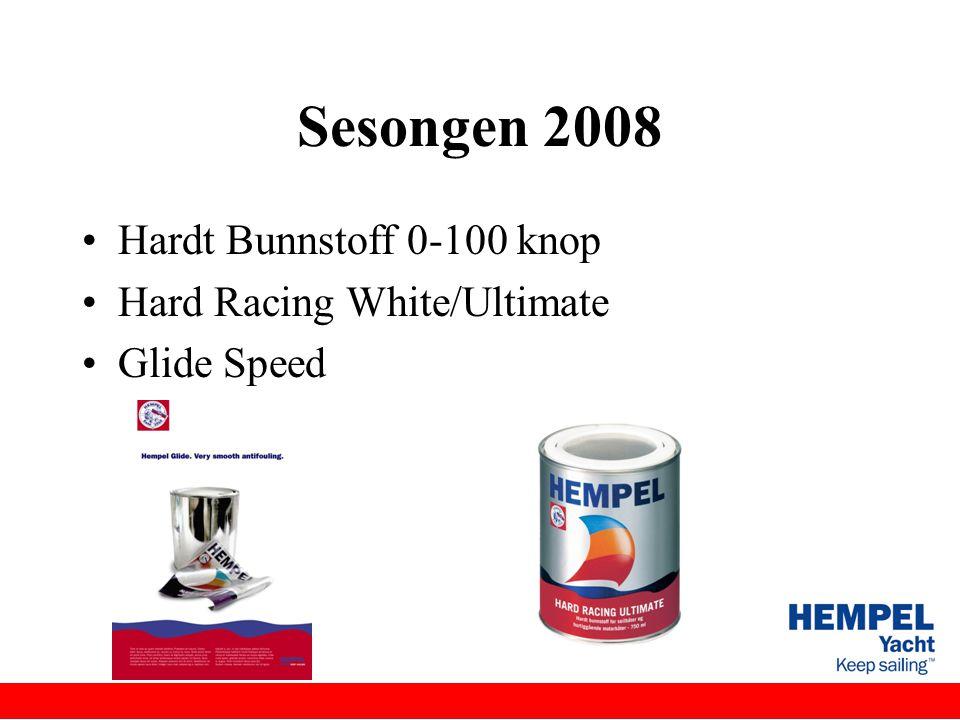Sesongen 2008 Hardt Bunnstoff 0-100 knop Hard Racing White/Ultimate