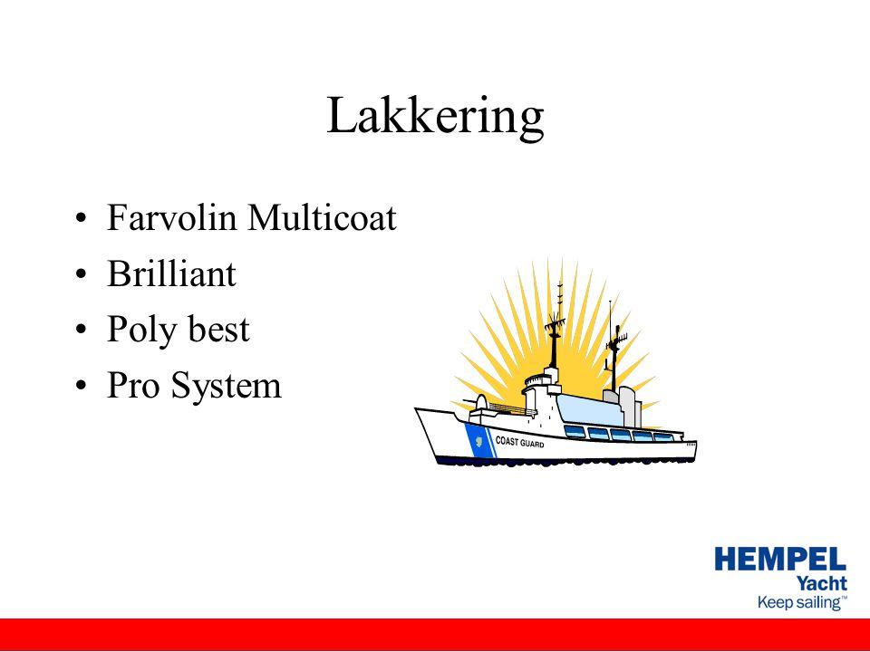 Lakkering Farvolin Multicoat Brilliant Poly best Pro System