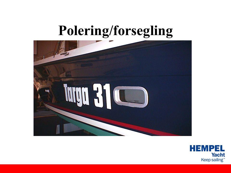 Polering/forsegling