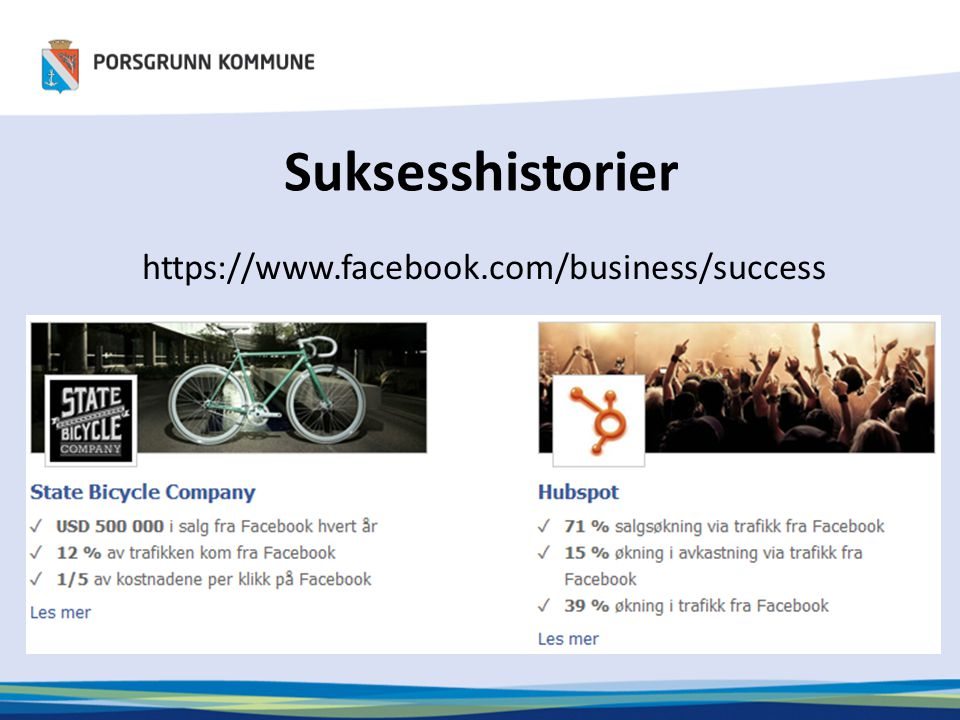 Suksesshistorier https://www.facebook.com/business/success