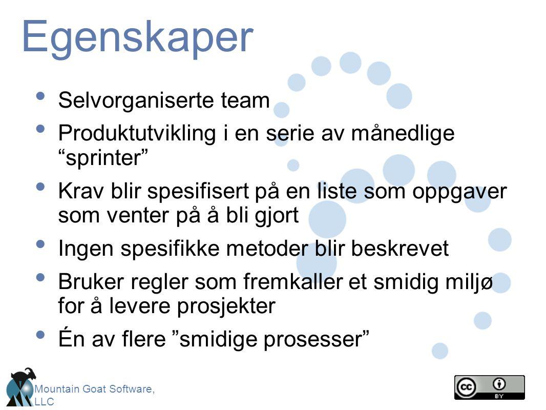 Egenskaper Selvorganiserte team
