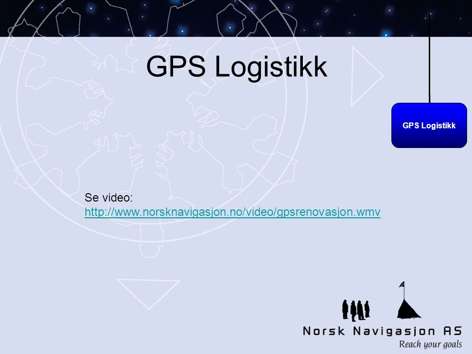 GPS Logistikk Se video: