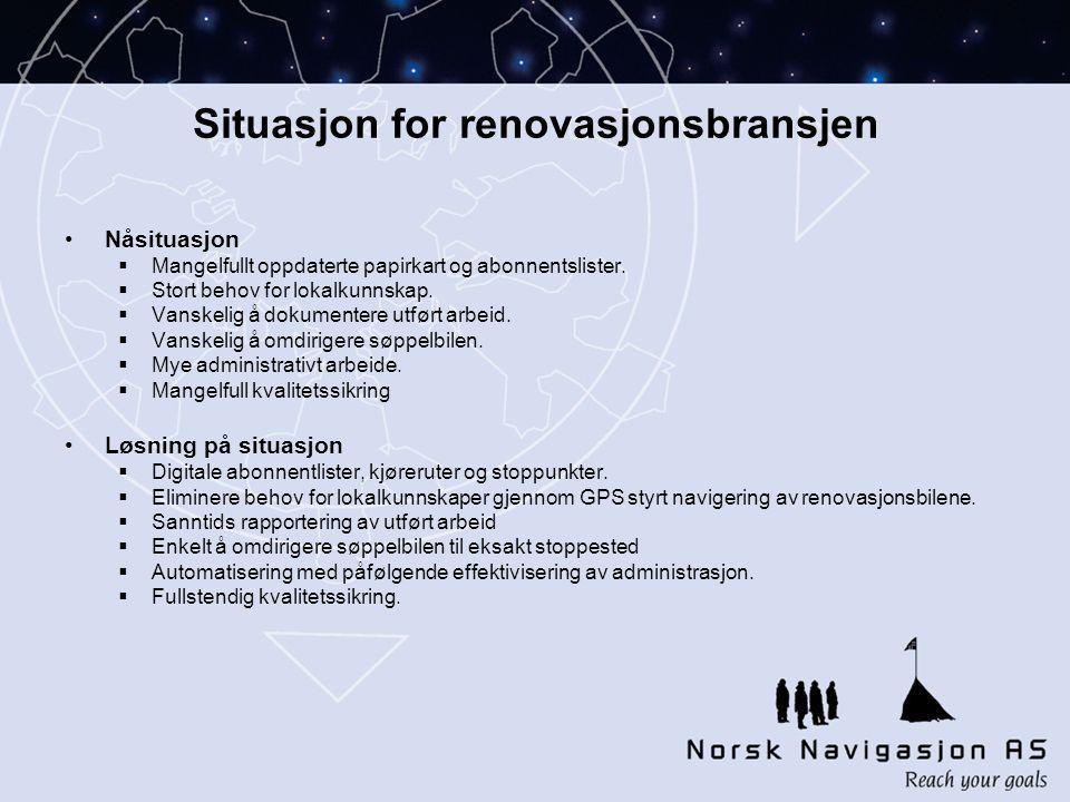 Situasjon for renovasjonsbransjen