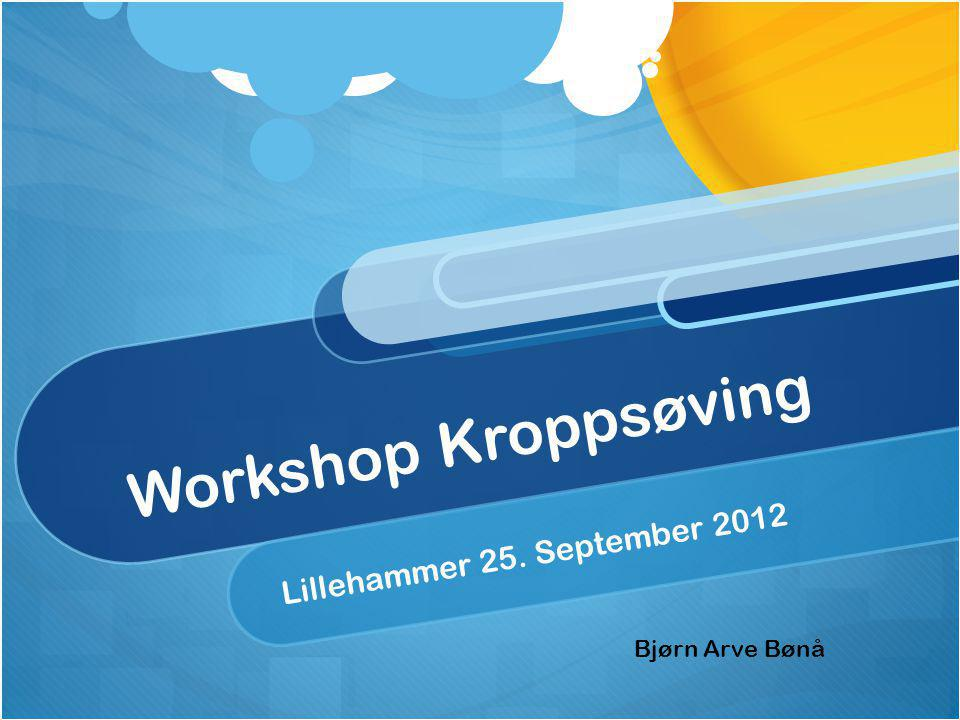 Lillehammer 25. September 2012