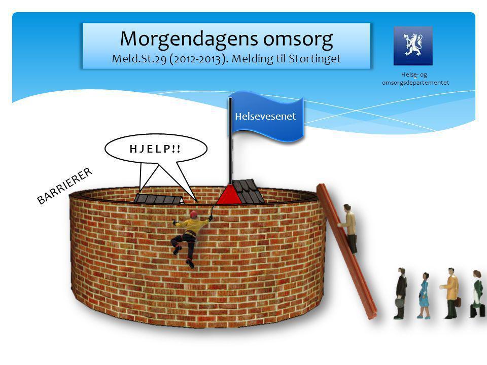 Morgendagens omsorg Meld.St.29 (2012-2013). Melding til Stortinget
