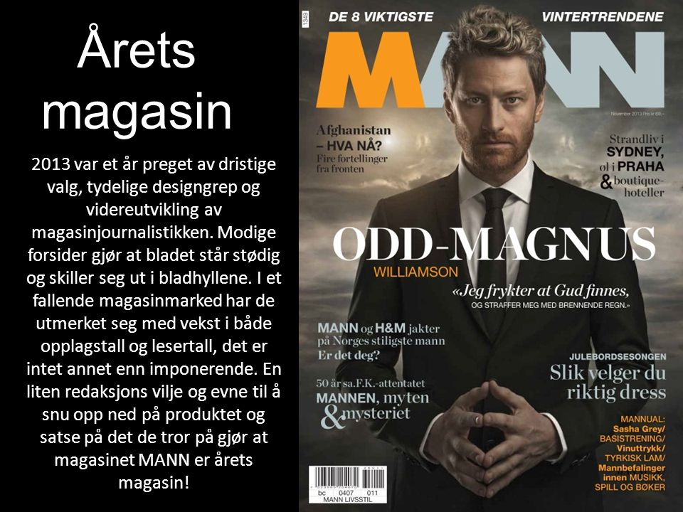 Årets magasin.