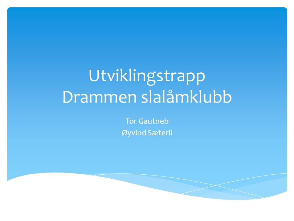 Utviklingstrapp Drammen slalåmklubb