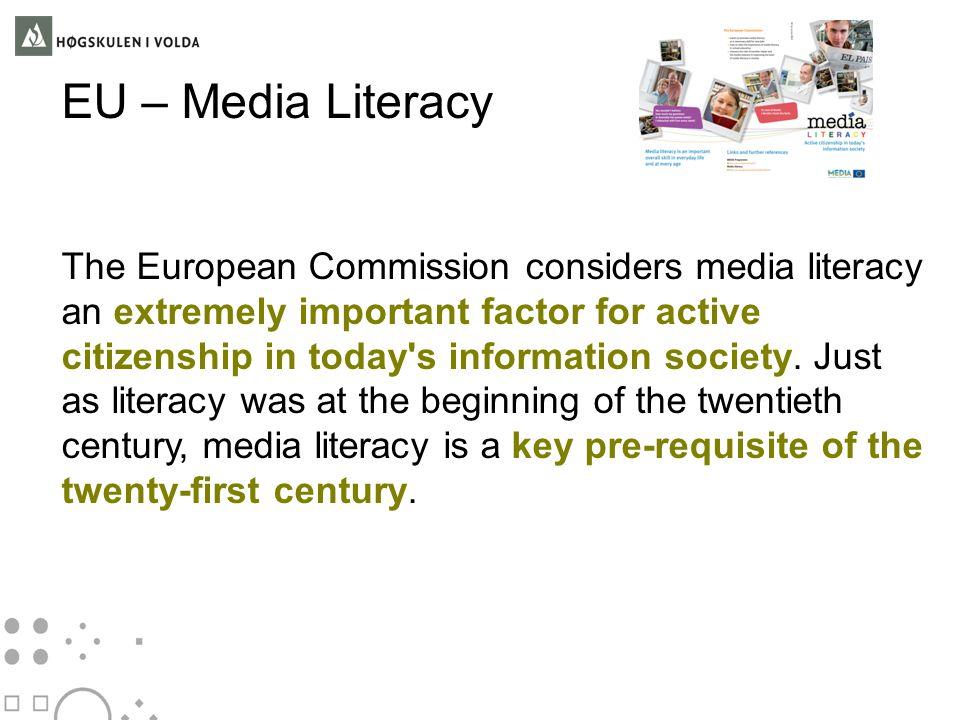 EU – Media Literacy
