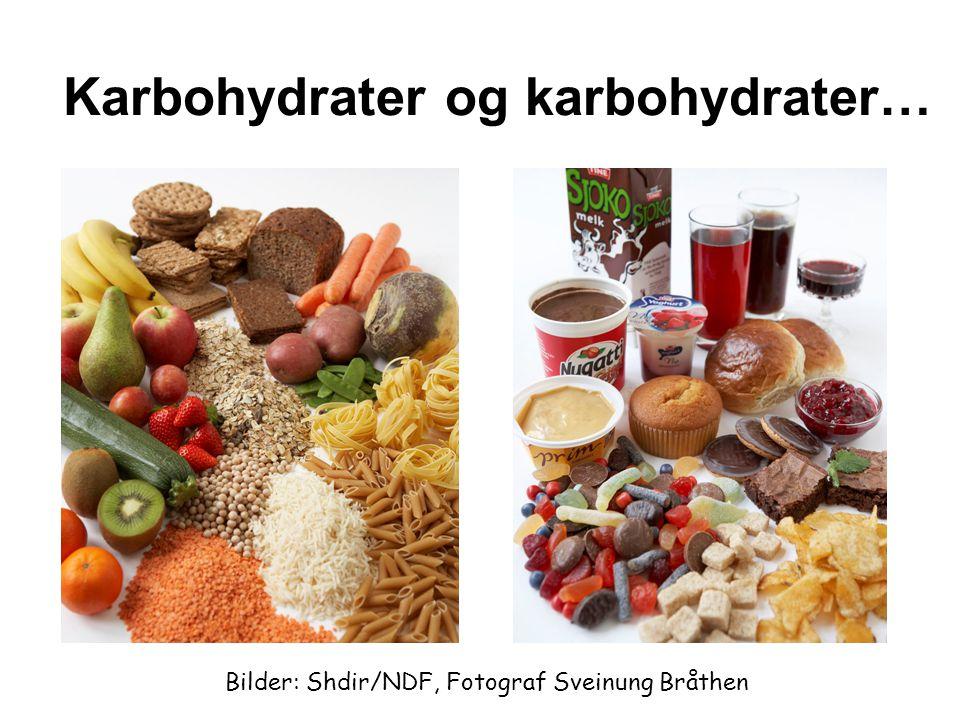 Karbohydrater og karbohydrater…