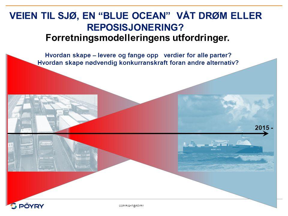 VEIEN TIL SJØ, EN BLUE OCEAN VÅT DRØM ELLER REPOSISJONERING