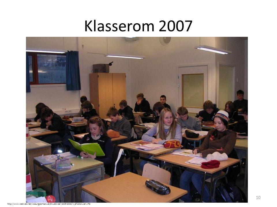 Klasserom 2007 Barna mine Fryser mer