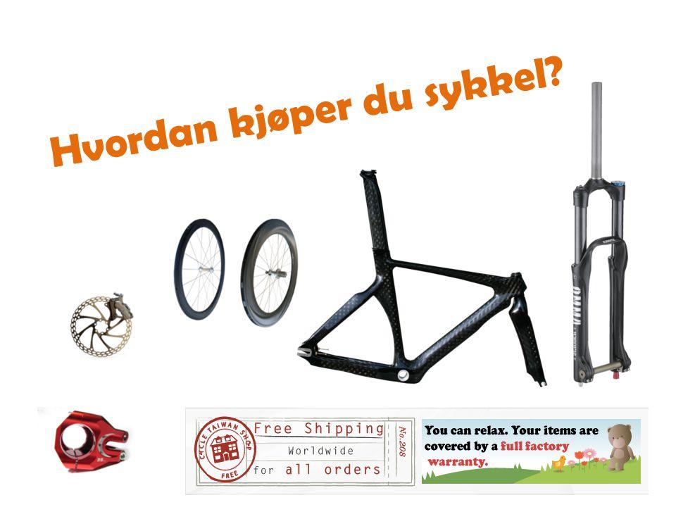 Hvordan kjøper du sykkel