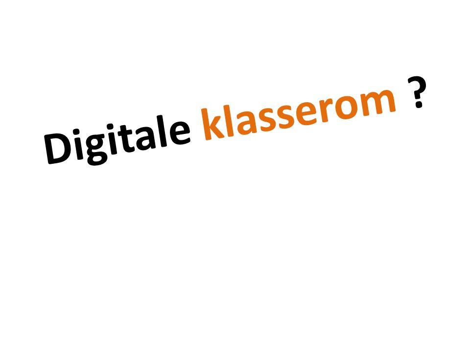 Digitale klasserom En anakronisme Feil metafor