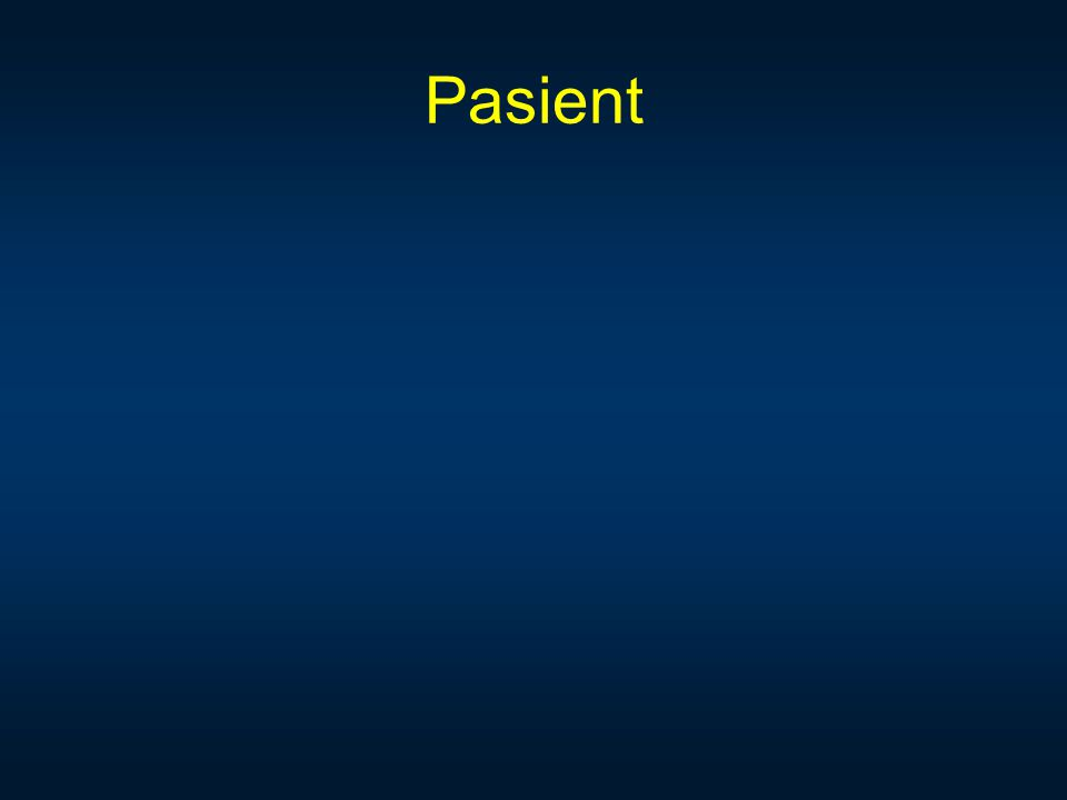 Pasient Hvordan vet vi hva pasienten har nytte av