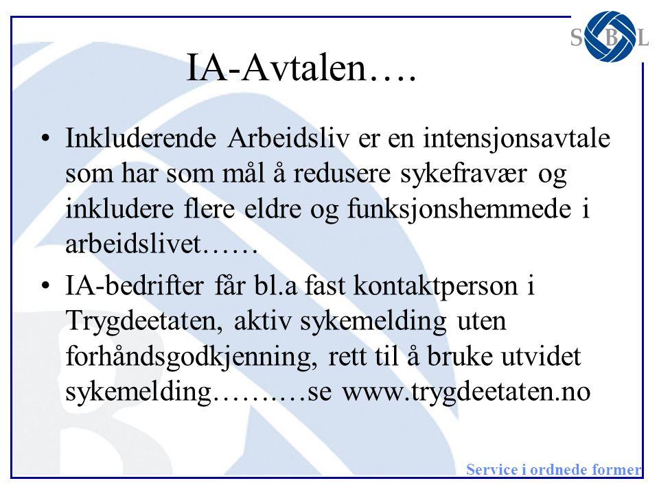 IA-Avtalen….