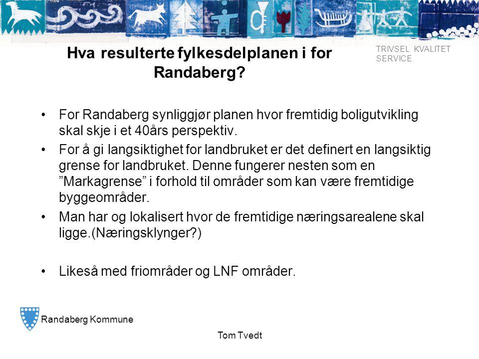 Hva resulterte fylkesdelplanen i for Randaberg